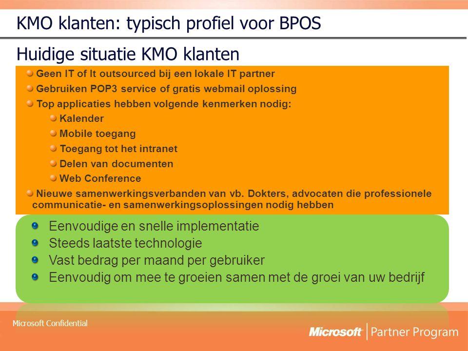 KMO klanten: typisch profiel voor BPOS