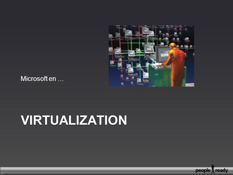 Microsoft en … Virtualization