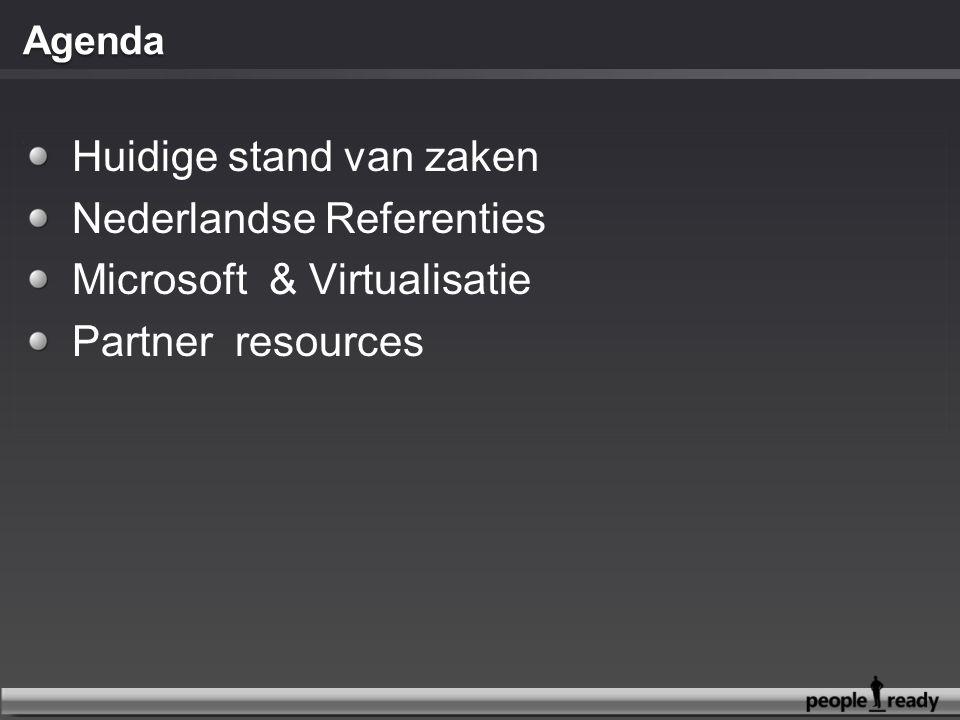Huidige stand van zaken Nederlandse Referenties