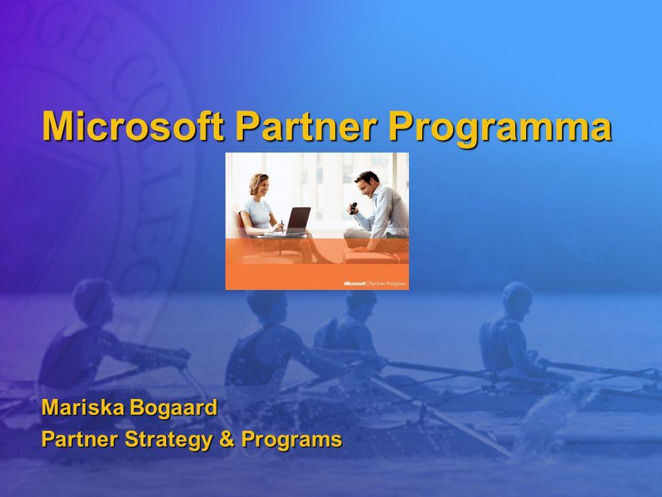 Microsoft Partner Programma