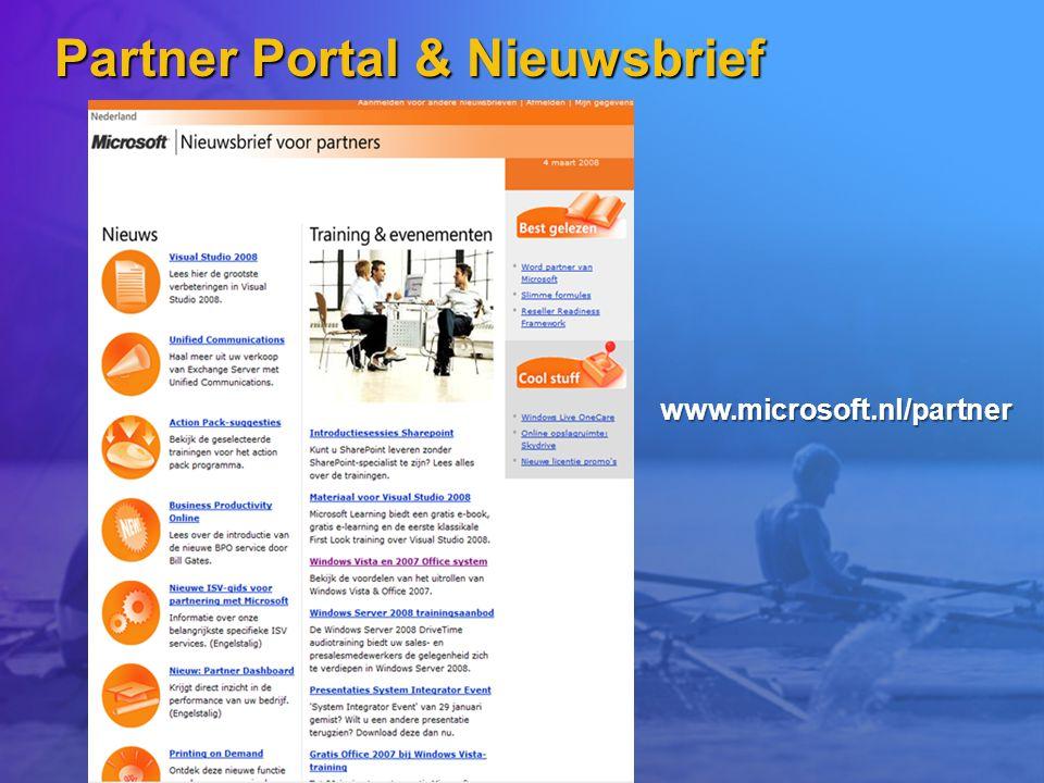 Partner Portal & Nieuwsbrief