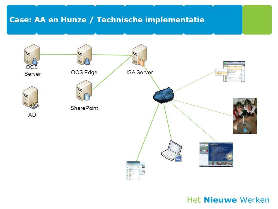 Case: AA en Hunze / Technische implementatie