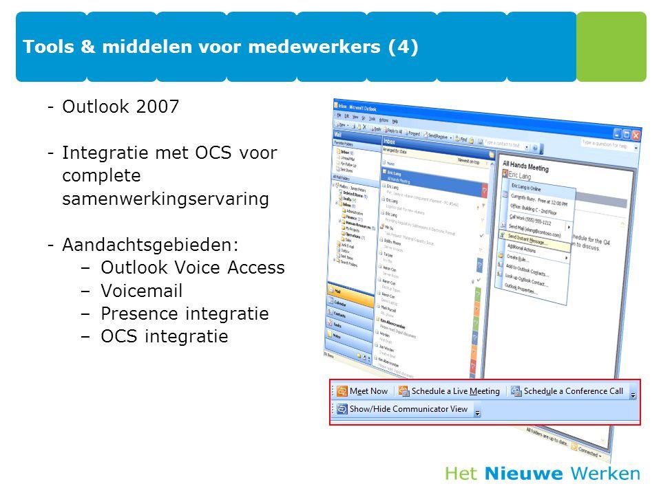 Tools & middelen voor medewerkers (4)