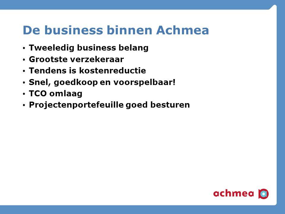 De business binnen Achmea