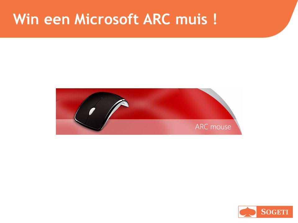 Win een Microsoft ARC muis !