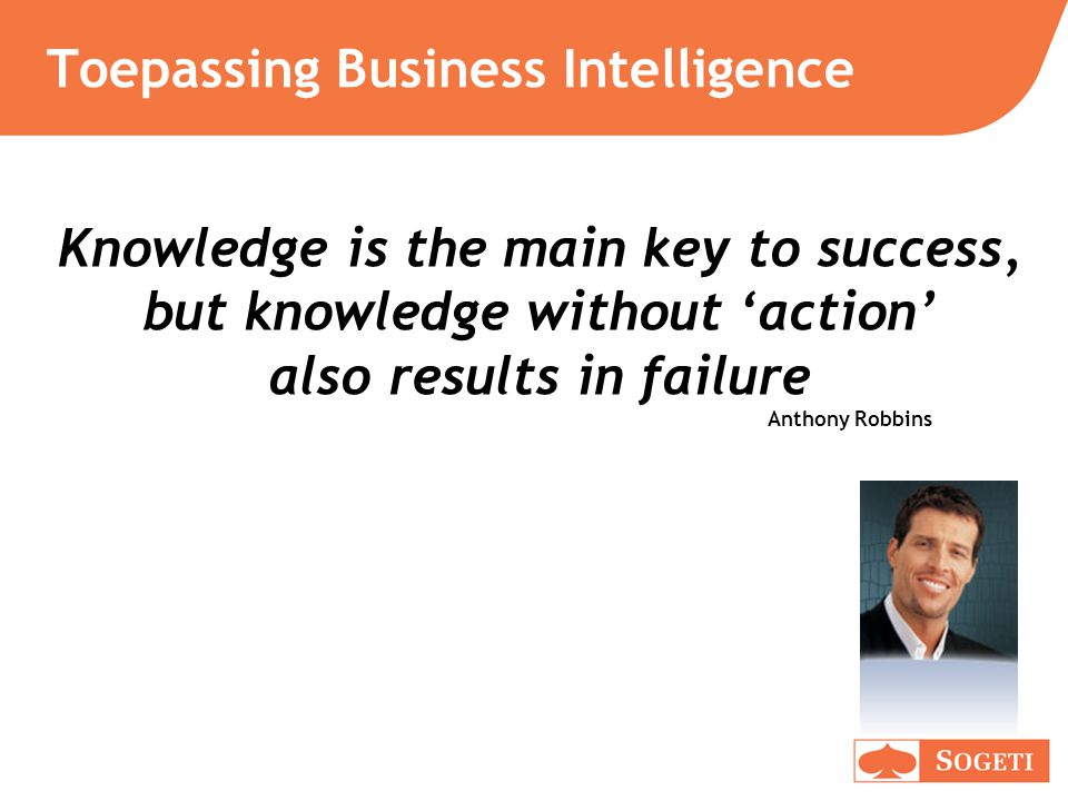 Toepassing Business Intelligence
