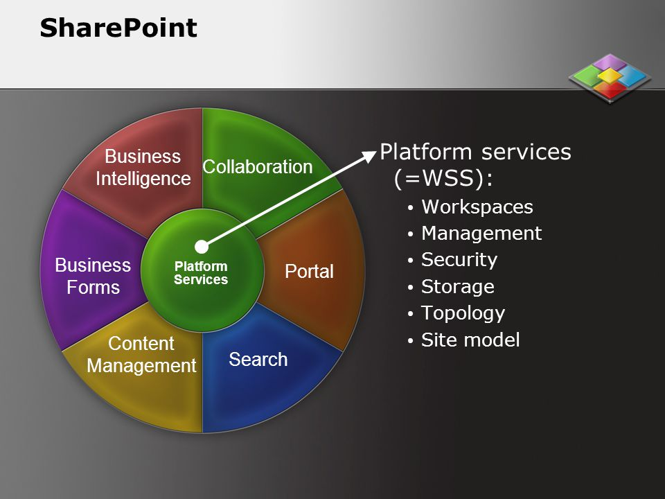 SharePoint Platform services (=WSS): Business Intelligence