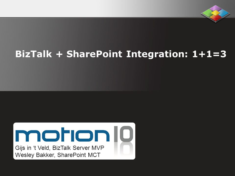 BizTalk + SharePoint Integration: 1+1=3