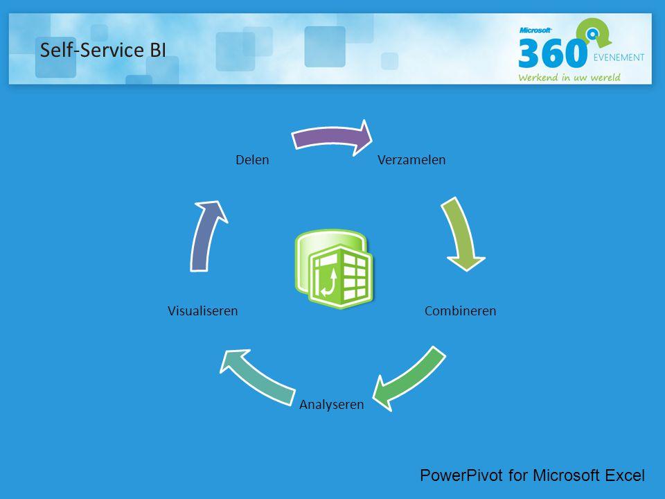 Self-Service BI PowerPivot for Microsoft Excel Verzamelen Combineren