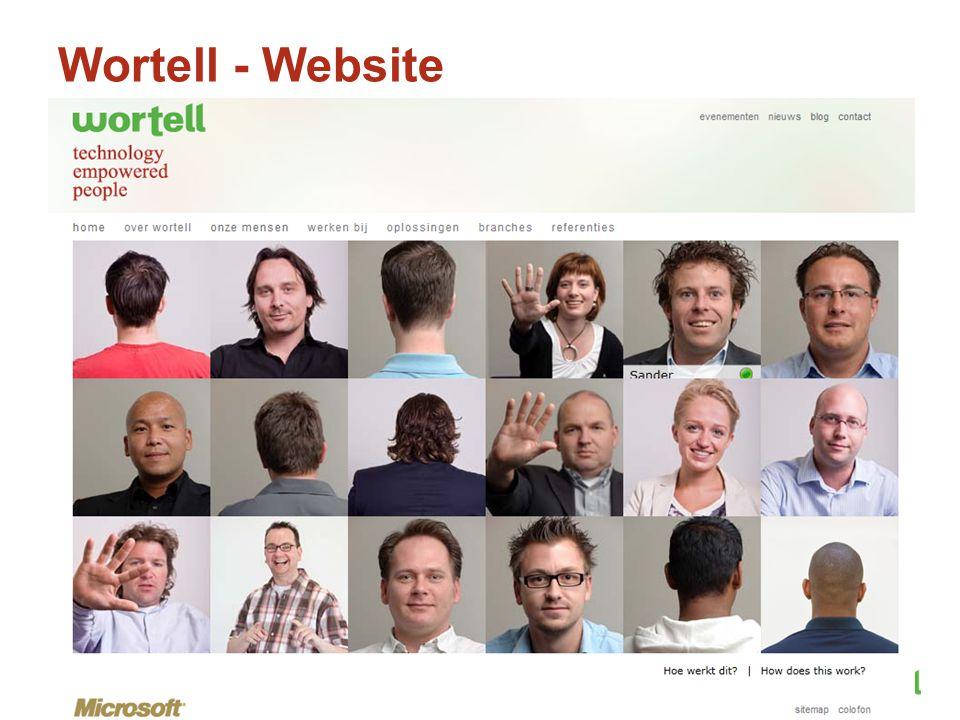 Wortell - Website