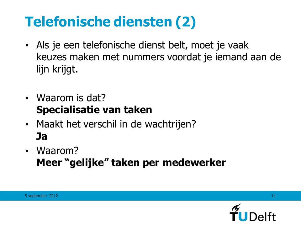 Telefonische diensten (2)