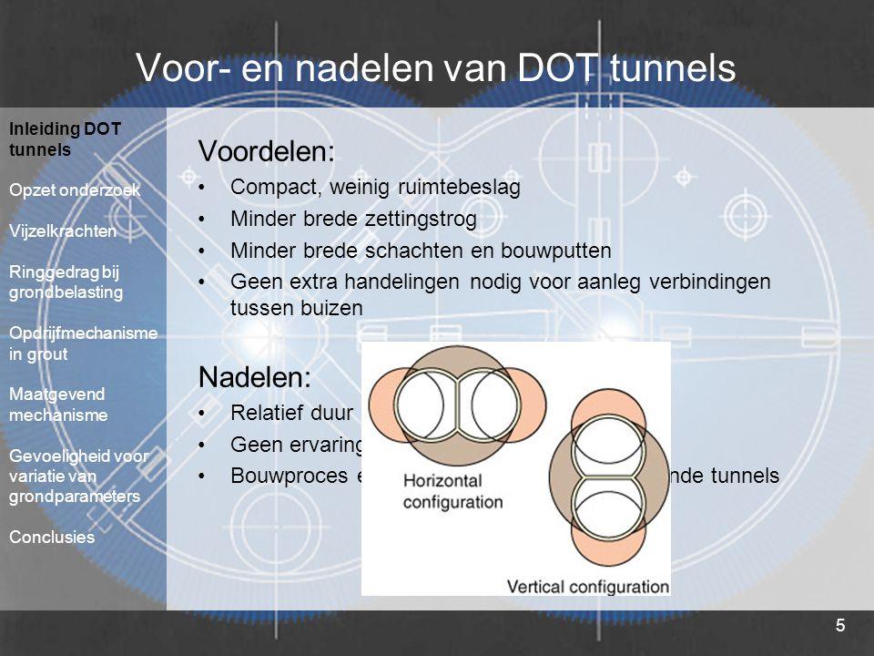 Voor- en nadelen van DOT tunnels