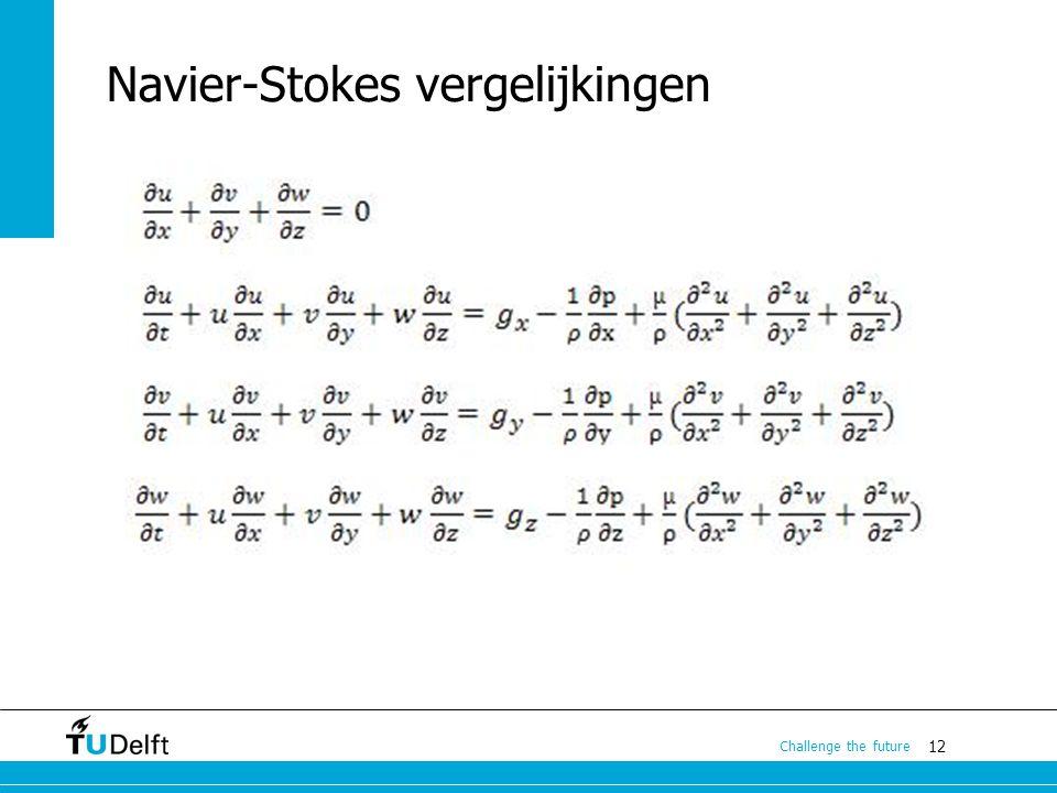 Navier-Stokes vergelijkingen