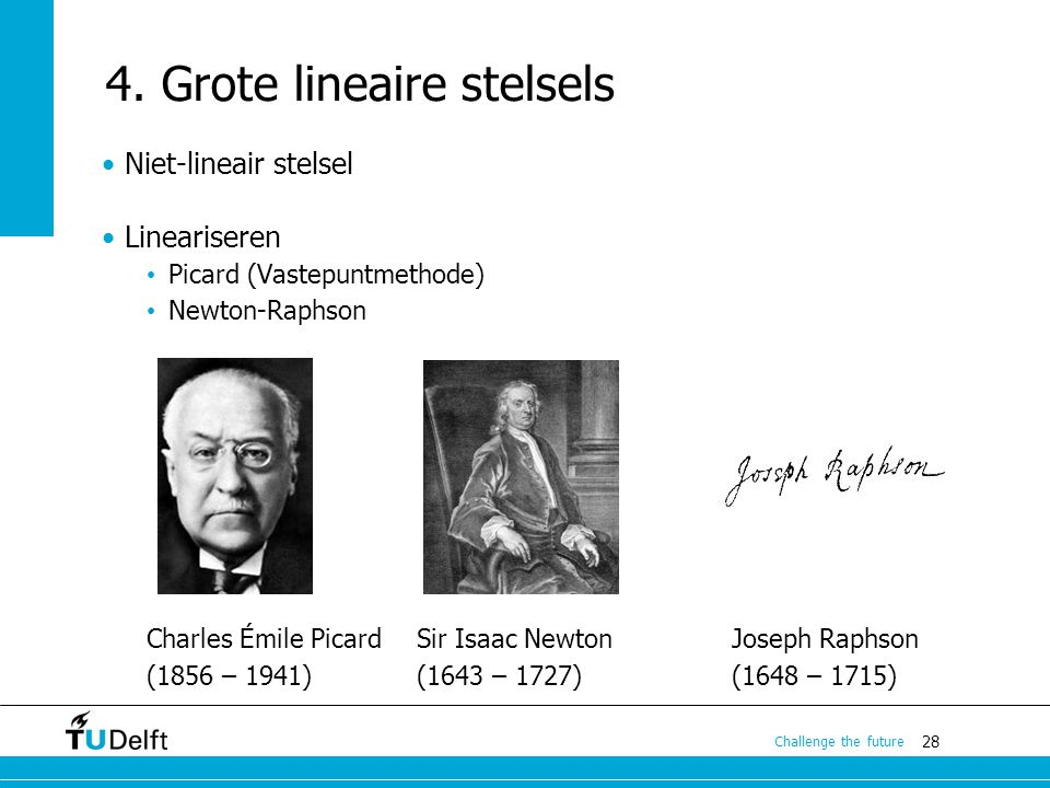 4. Grote lineaire stelsels