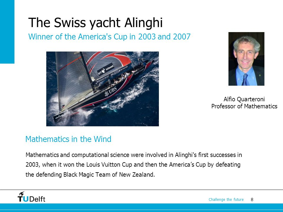 The Swiss yacht Alinghi