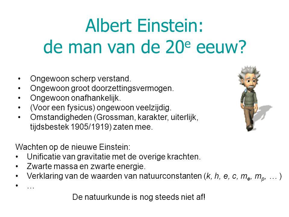 Albert Einstein: de man van de 20e eeuw