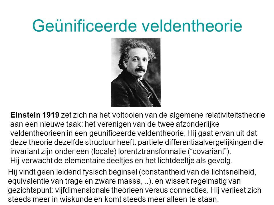 Geünificeerde veldentheorie