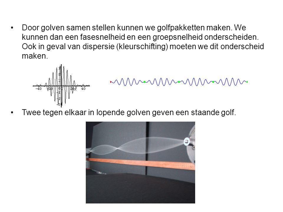 Door golven samen stellen kunnen we golfpakketten maken