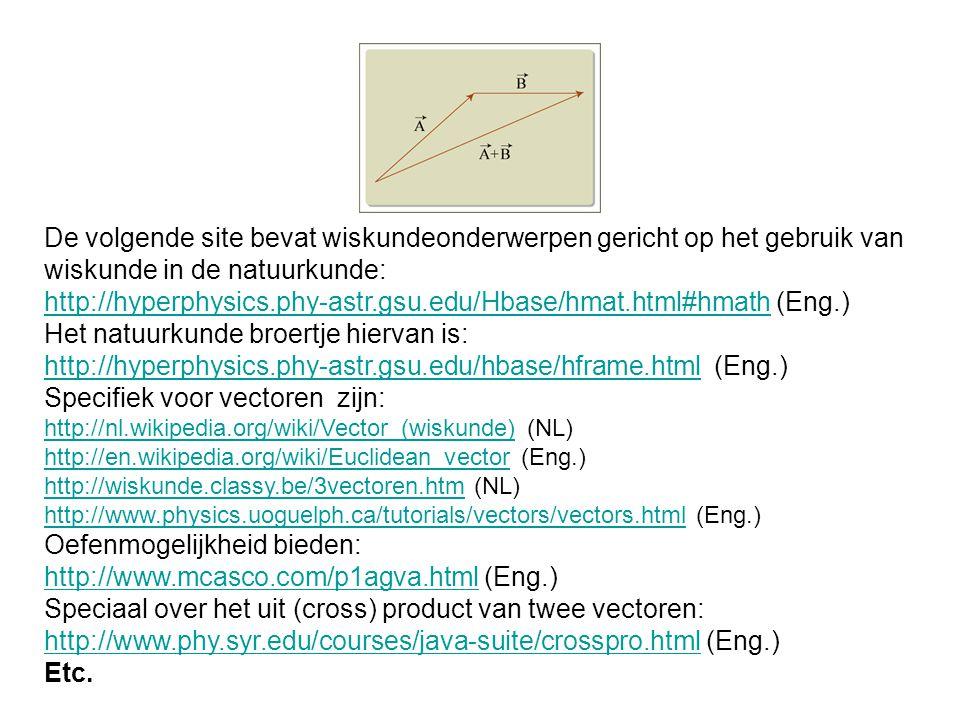 http://hyperphysics.phy-astr.gsu.edu/Hbase/hmat.html#hmath (Eng.)