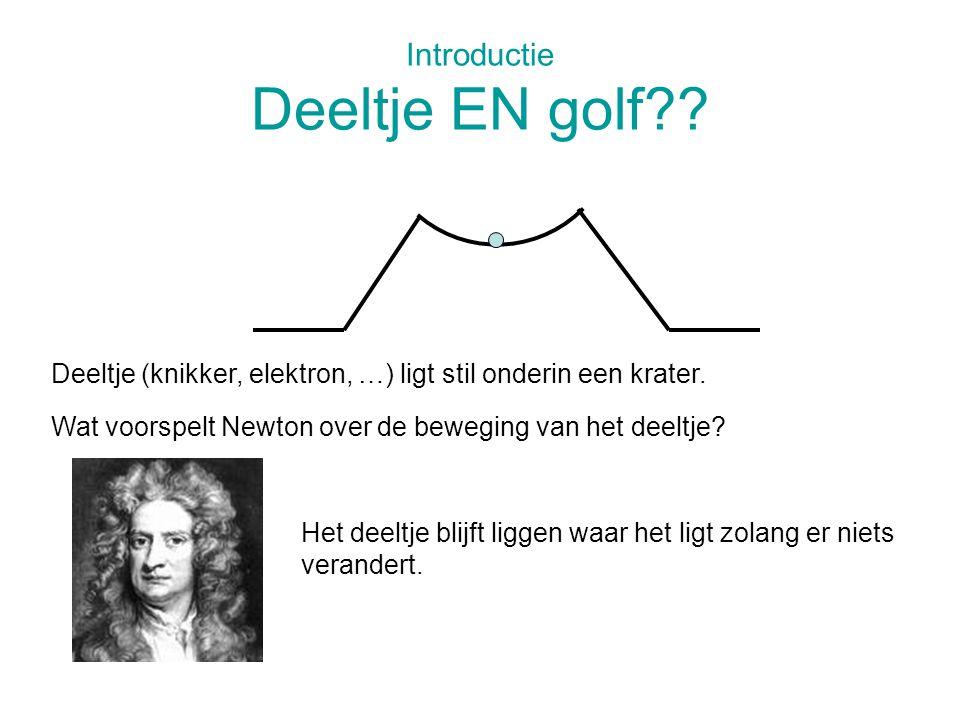 Introductie Deeltje EN golf
