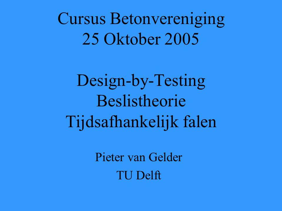 Pieter van Gelder TU Delft