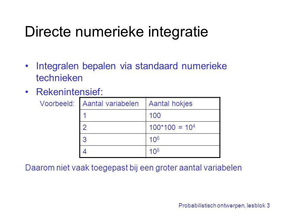 Directe numerieke integratie