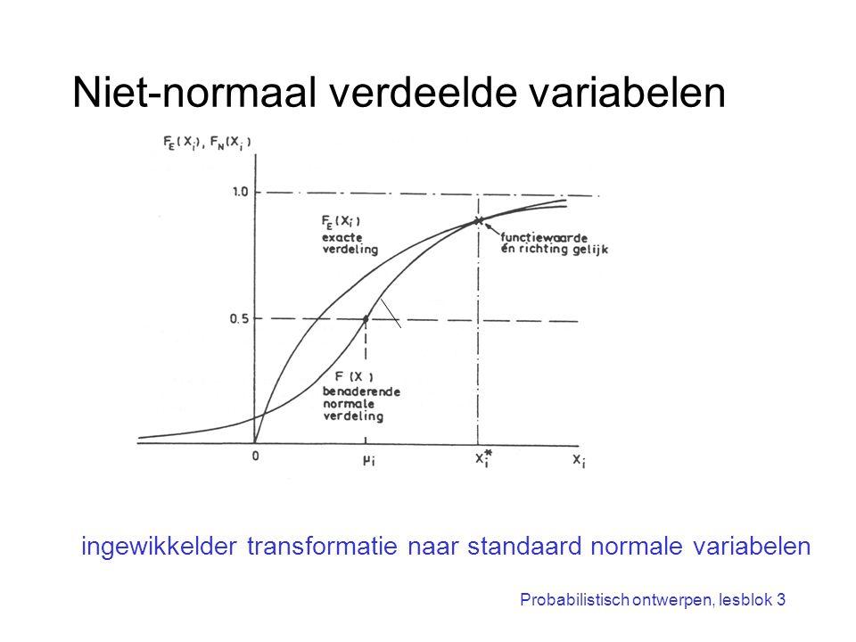 Niet-normaal verdeelde variabelen
