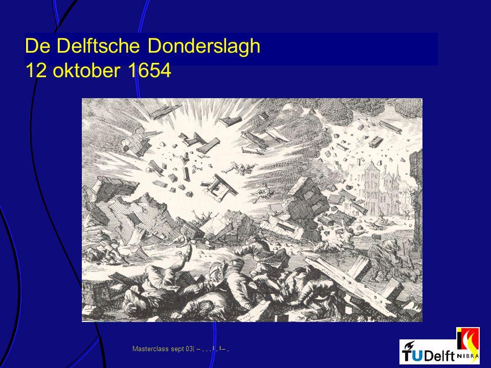 De Delftsche Donderslagh 12 oktober 1654