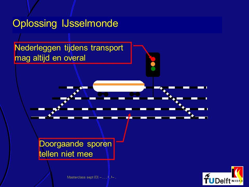 Oplossing IJsselmonde