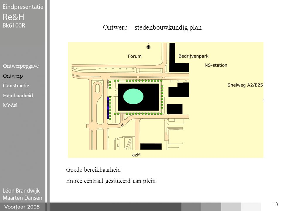 Ontwerp – stedenbouwkundig plan