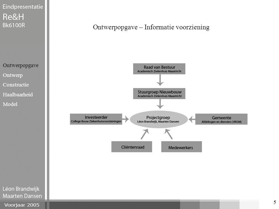 Ontwerpopgave – Informatie voorziening