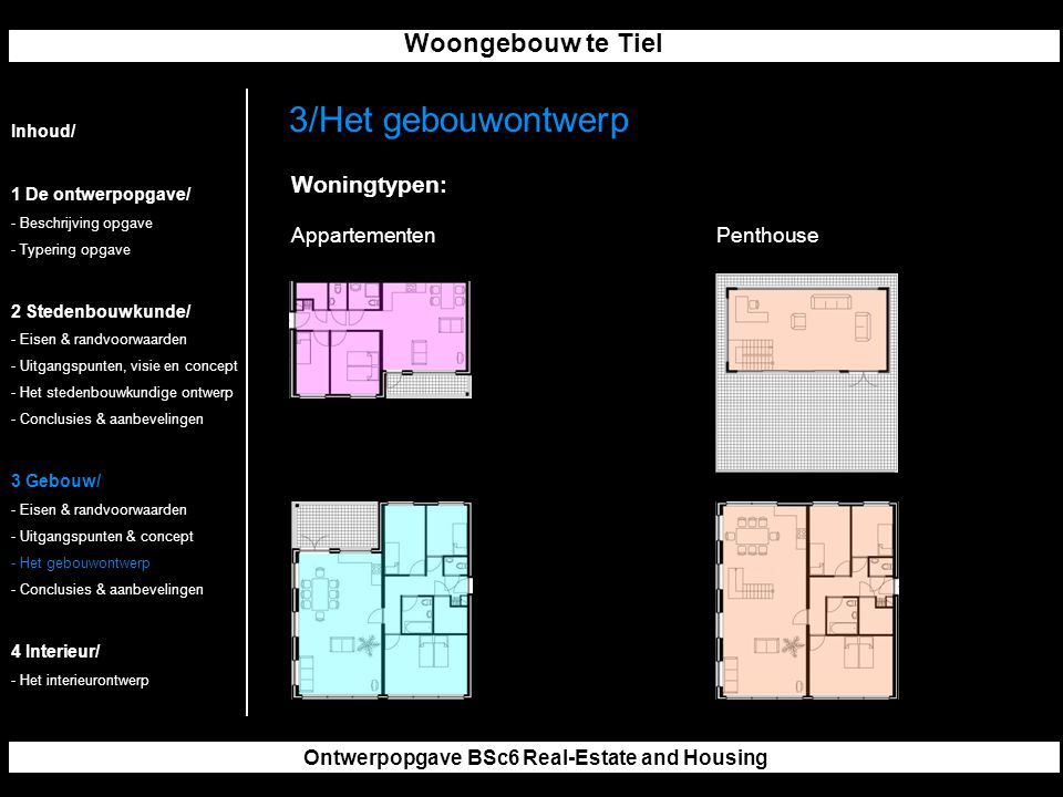 Ontwerpopgave BSc6 Real-Estate and Housing