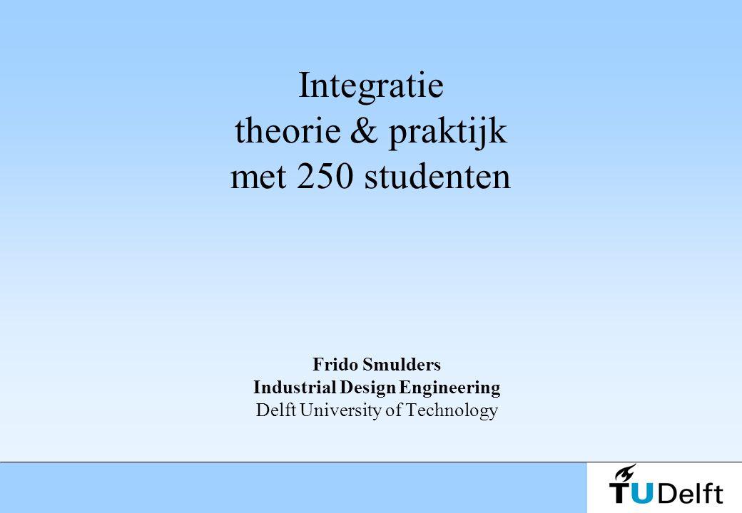 Integratie theorie & praktijk met 250 studenten