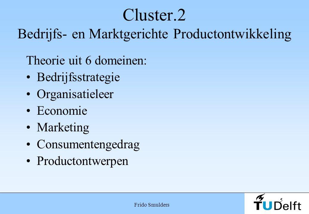 Cluster.2 Bedrijfs- en Marktgerichte Productontwikkeling