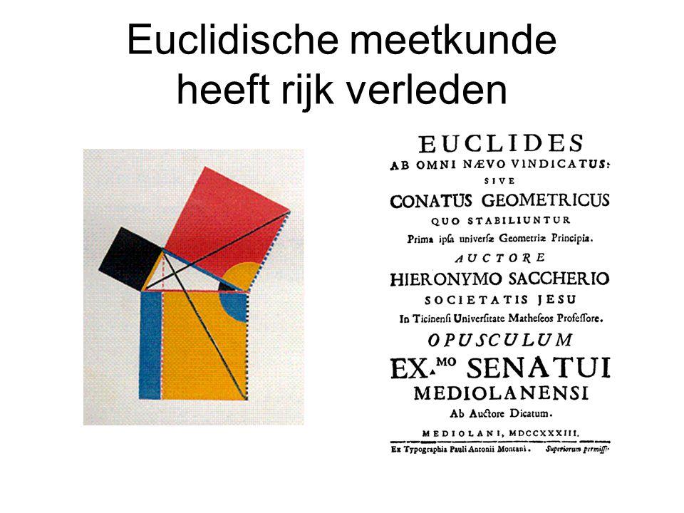 Euclidische meetkunde heeft rijk verleden