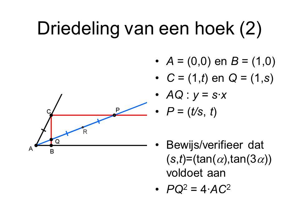 Driedeling van een hoek (2)