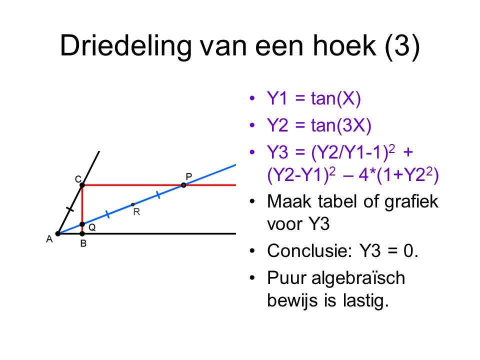 Driedeling van een hoek (3)