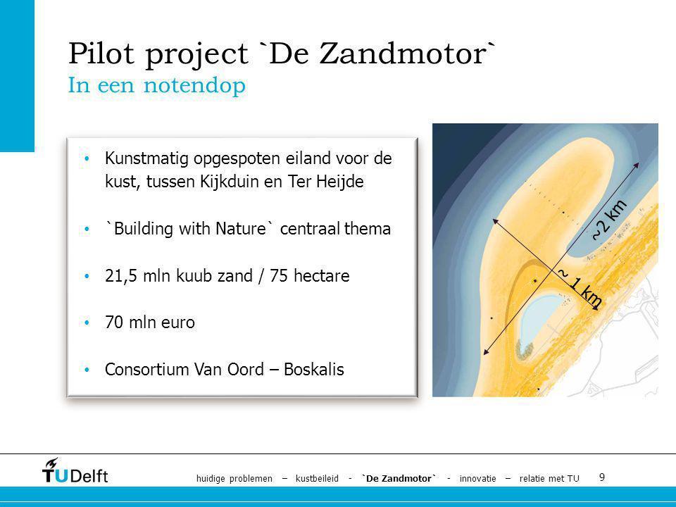 Pilot project `De Zandmotor`