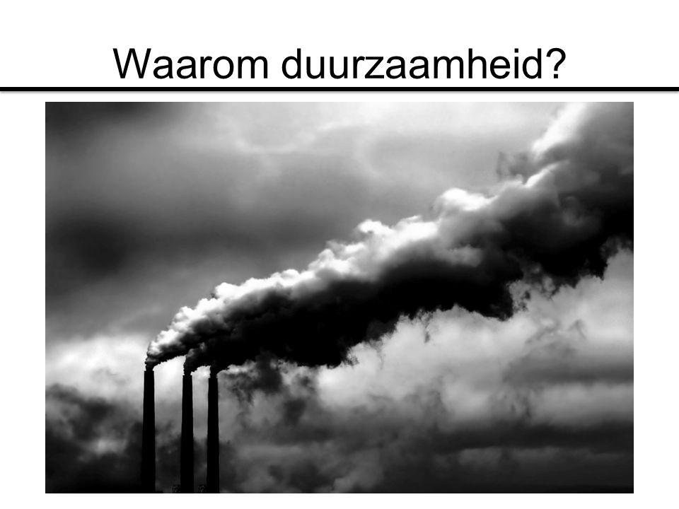 Waarom duurzaamheid Duurzaamheid, is global warming