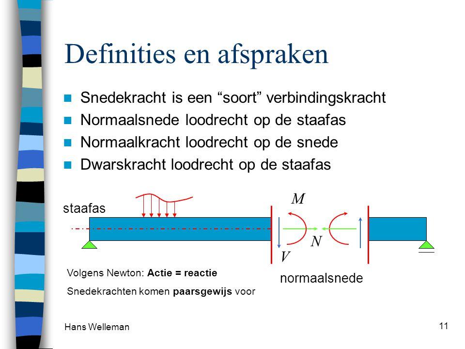 Definities en afspraken