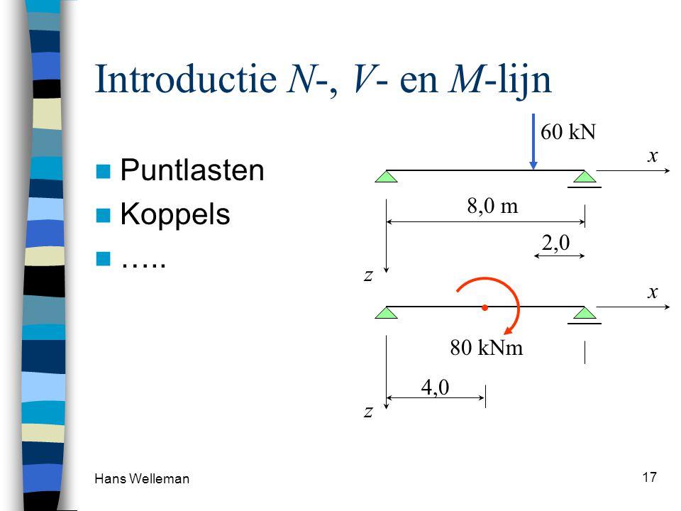 Introductie N-, V- en M-lijn