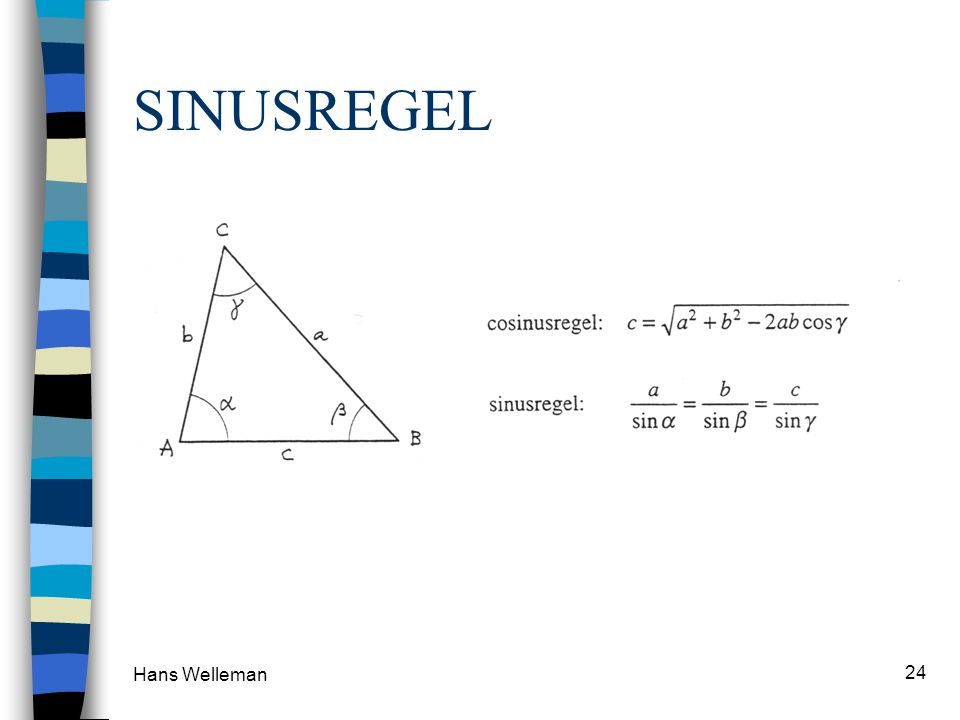 SINUSREGEL Hans Welleman