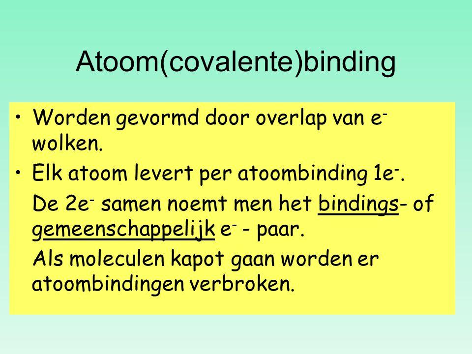 Atoom(covalente)binding