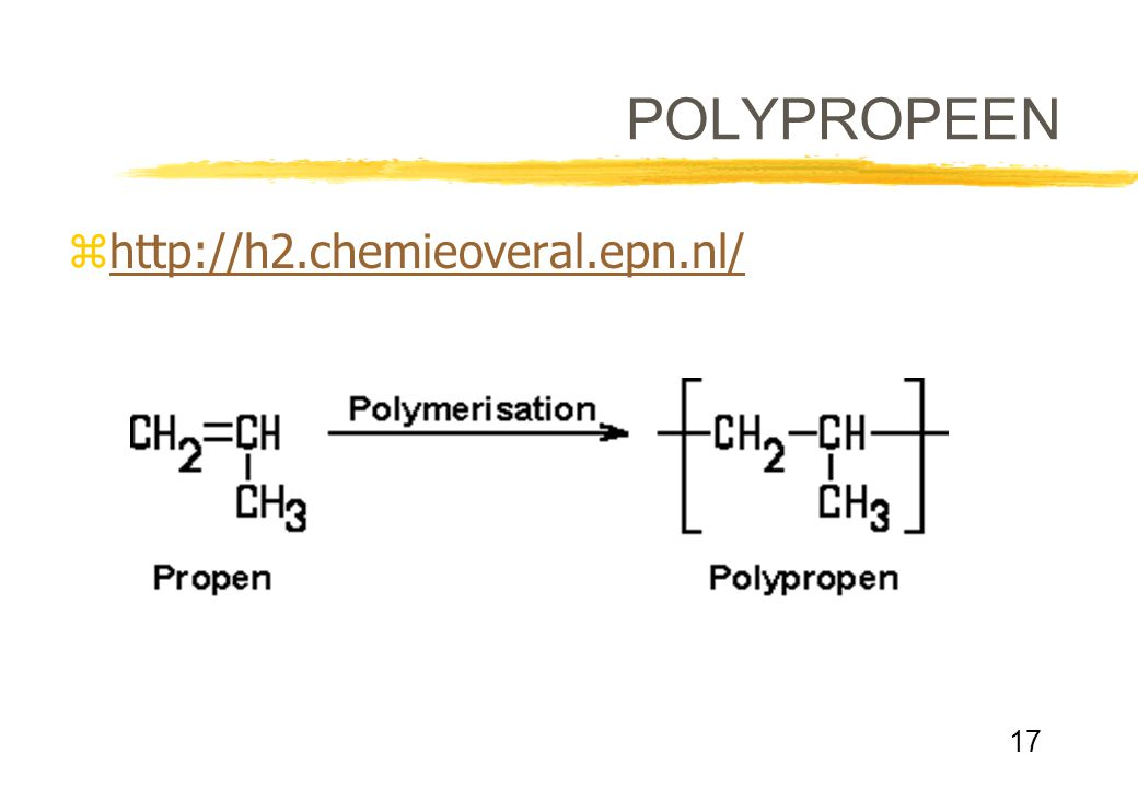POLYPROPEEN http://h2.chemieoveral.epn.nl/