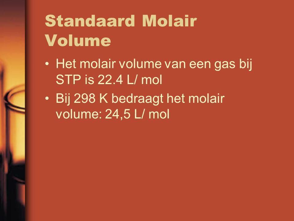 Standaard Molair Volume
