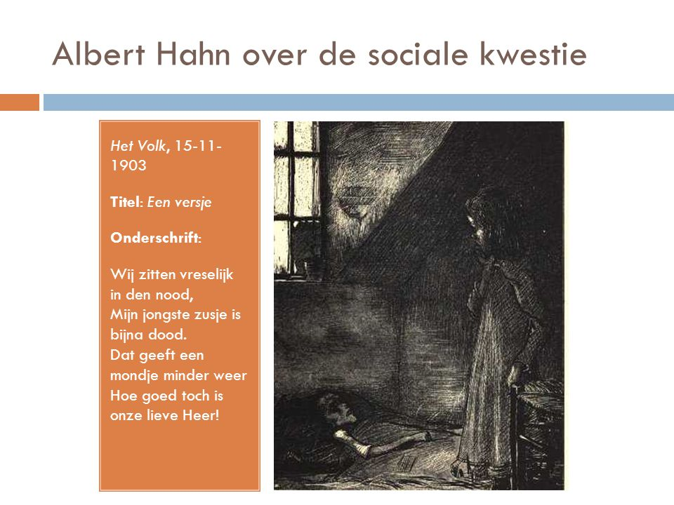 Albert Hahn over de sociale kwestie