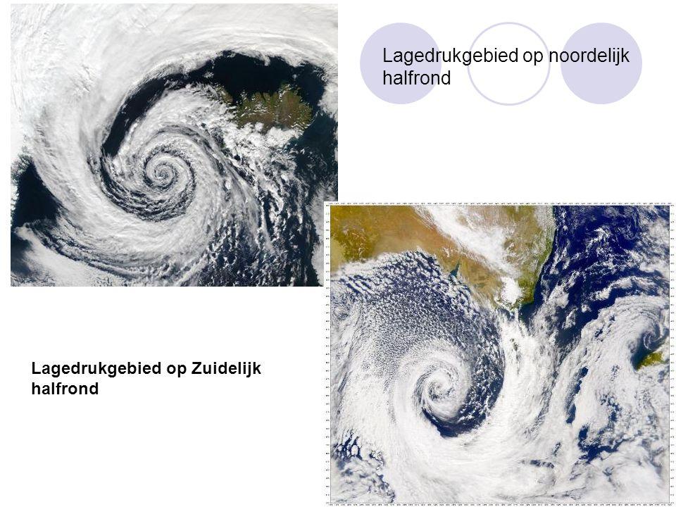 Lagedrukgebied op noordelijk halfrond