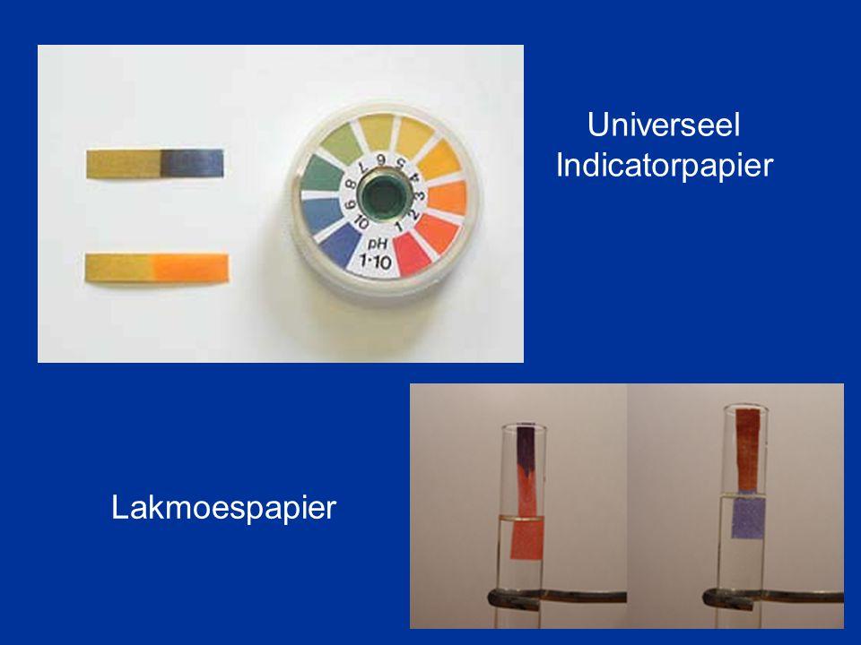 Universeel Indicatorpapier