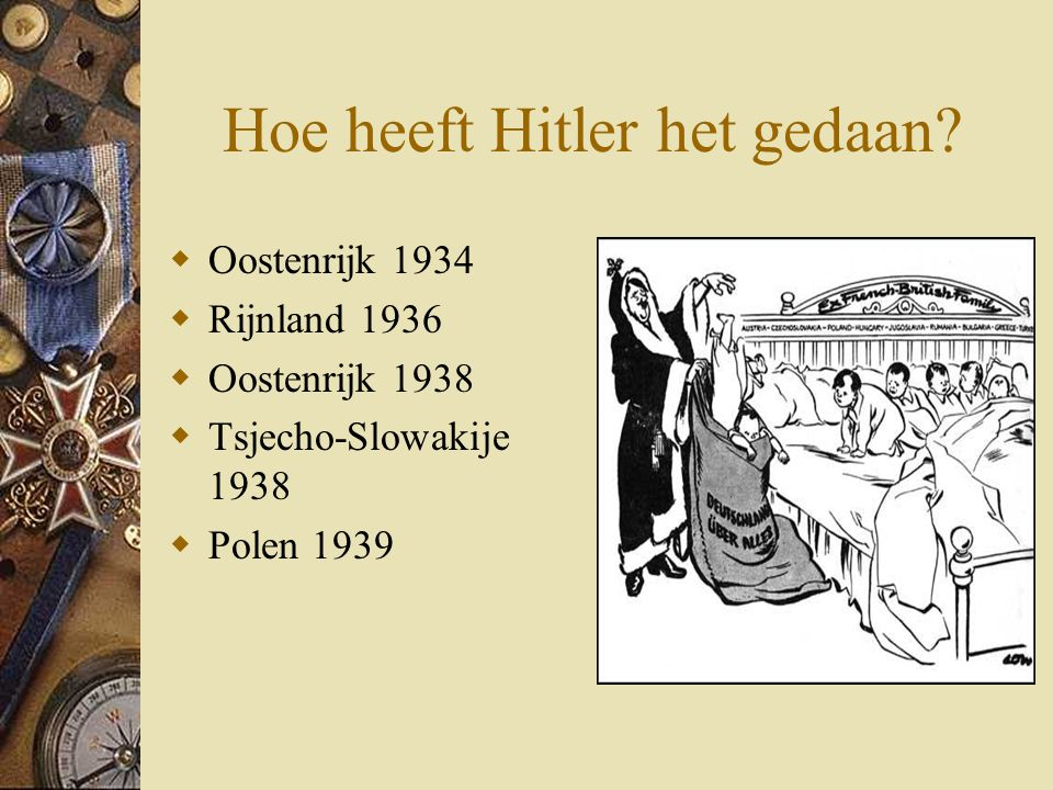 Hoe heeft Hitler het gedaan