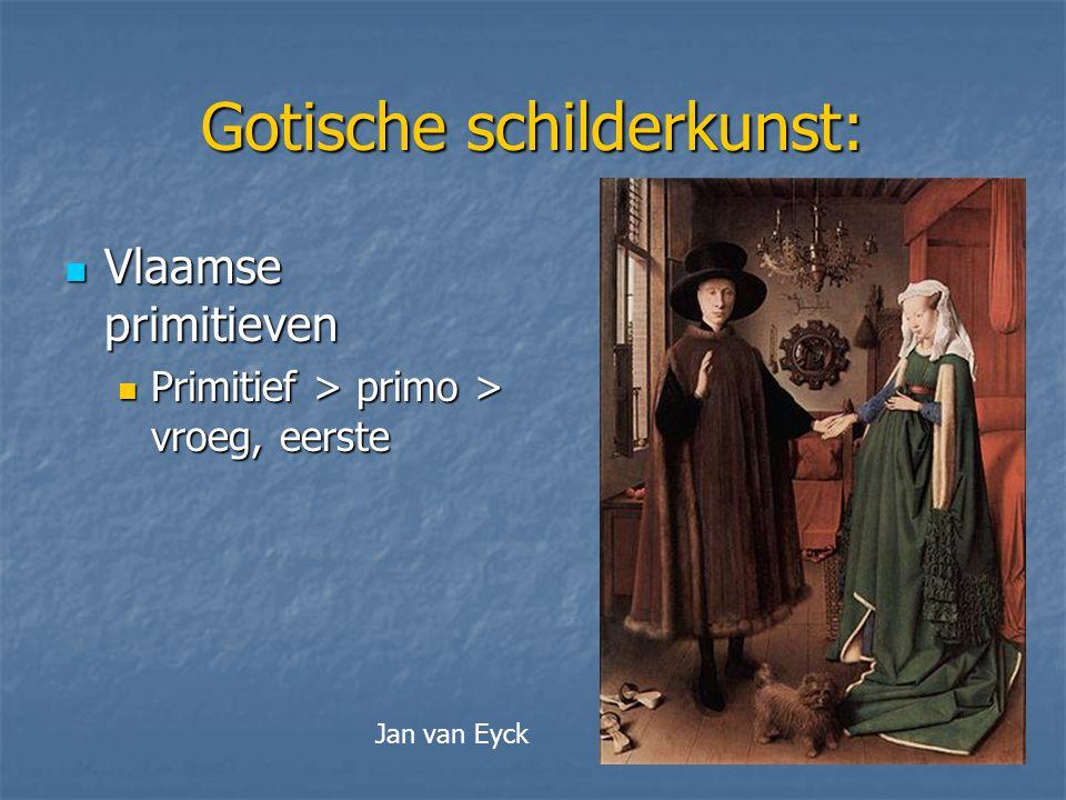 Gotische schilderkunst: